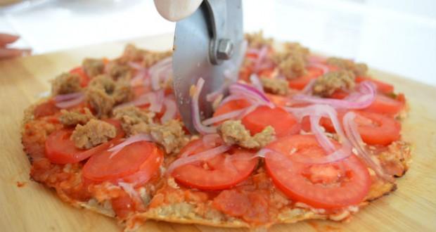 Pizza de aveia
