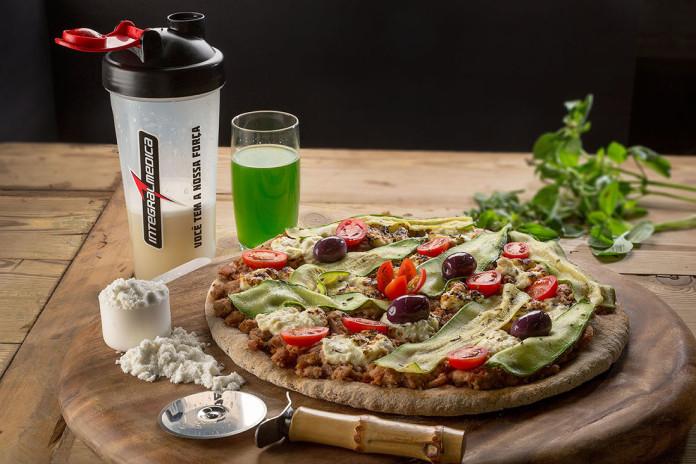 Pizza de whey