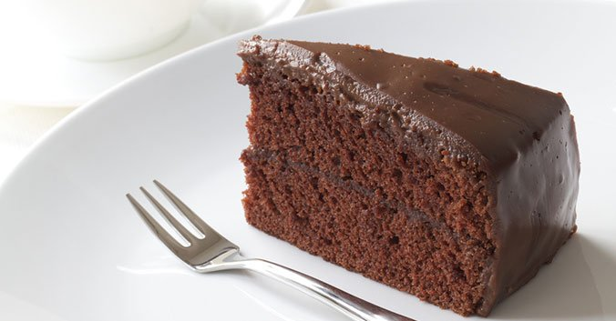 Bolo de chocolate diet