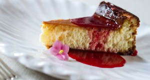Cheesecake de goji berry