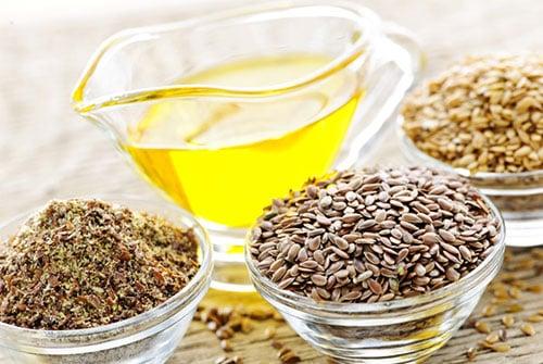 oleo de linhaça e sementes