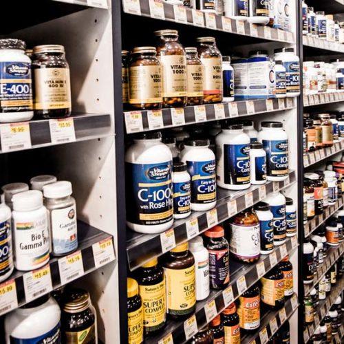 vitaminas e suplementos alimentares