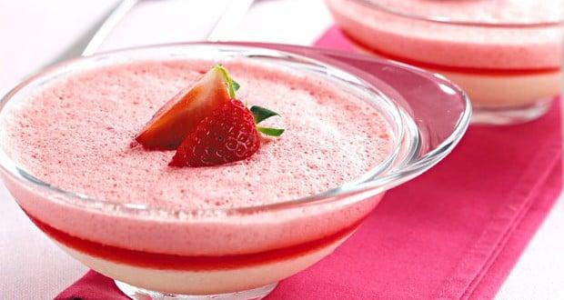 Gelatina de morango diet