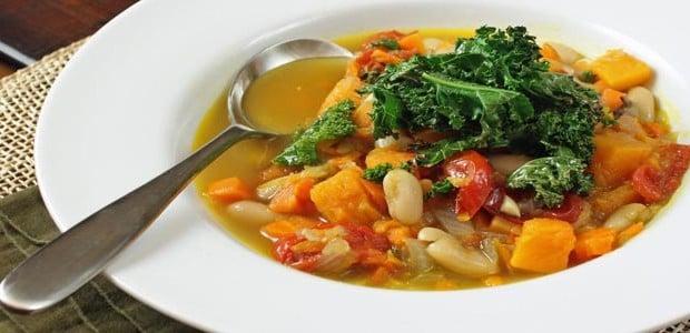 Sopa para emagrecer caldo