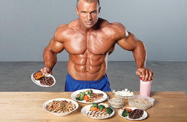 Alimentação de bodybuilder