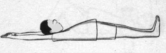 alongamento deitado