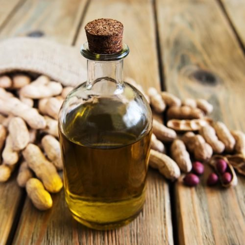 óleo de amendoim capa