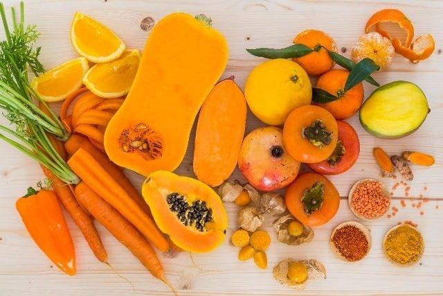 Alimentos com carotenoides tem poder antioxidante