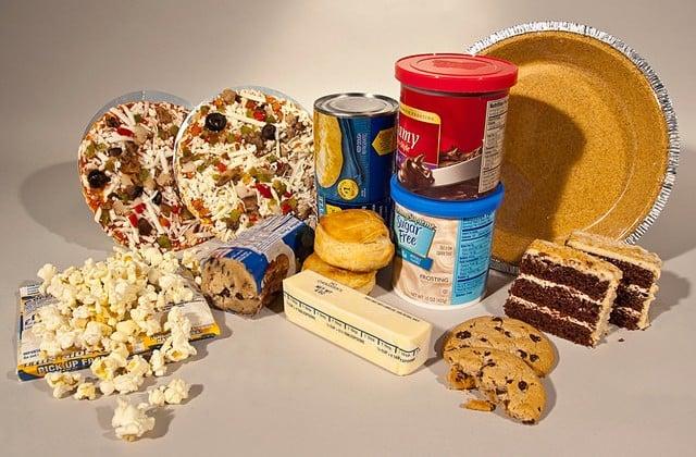 Alimentos com gorduras trans