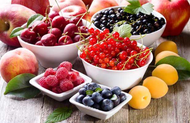 Frutas com resveratrol