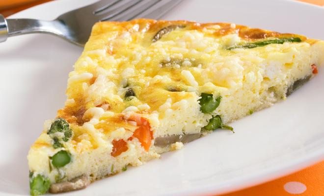 Receita omelete de forno