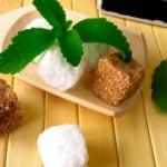 adoçantes stevia mascavo torrões