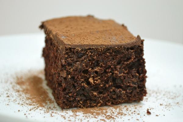 Bolo integral de chocolate