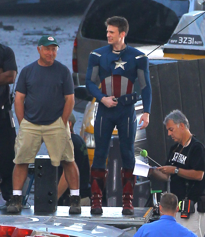 Film Set - The Avengers
