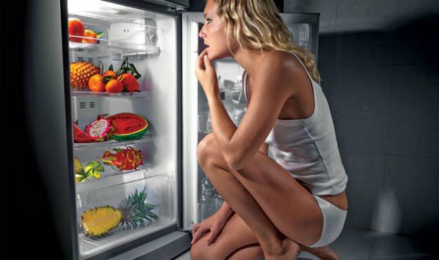 Assaltando a geladeira