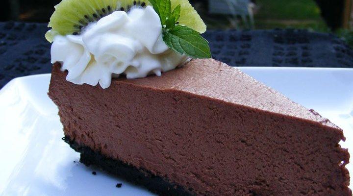 Torta de chocolate light
