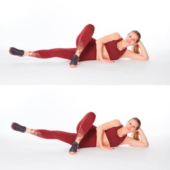círculos com as pernas para fortalecer parte interna das pernas