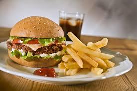 fast food coração