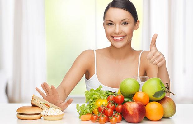 mudar alimentação