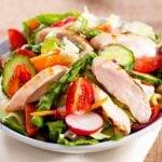 Salada para dieta de 1200 calorias