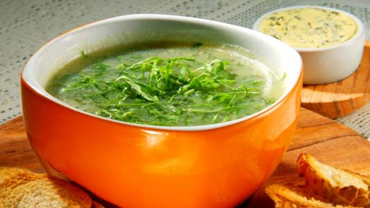 sopa verde para perder peso rapido
