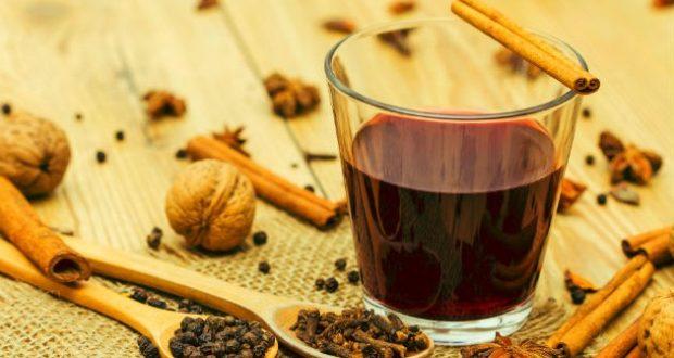 Chá de cravo e canela