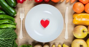 Coração no prato