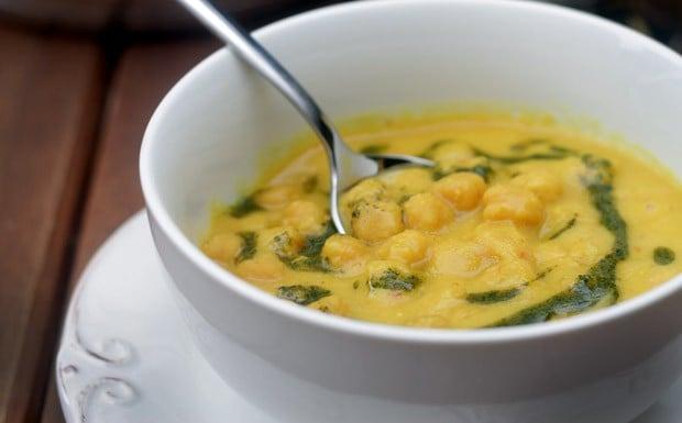 Sopa de grão de bico