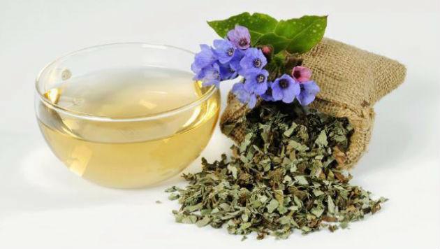 Chá de pulmonária