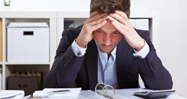 Estressado no trabalho