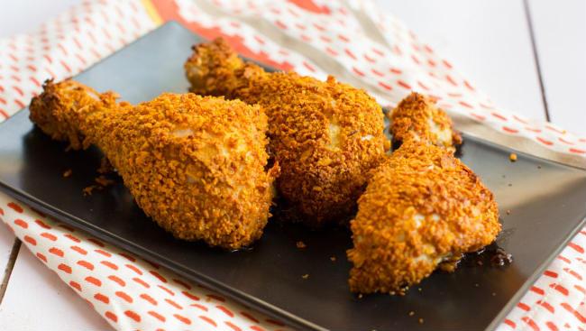 Da coxa receita de parte frango