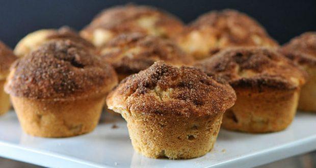 Muffin com canela