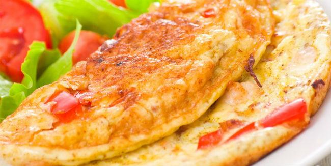 Omelete de tomate