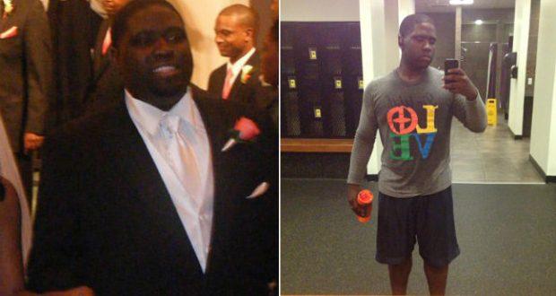 Peso perdido de Potap antes e depois de uma foto