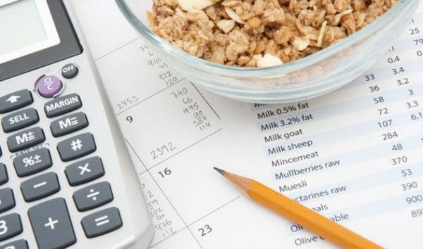 como contar calorias para perder peso