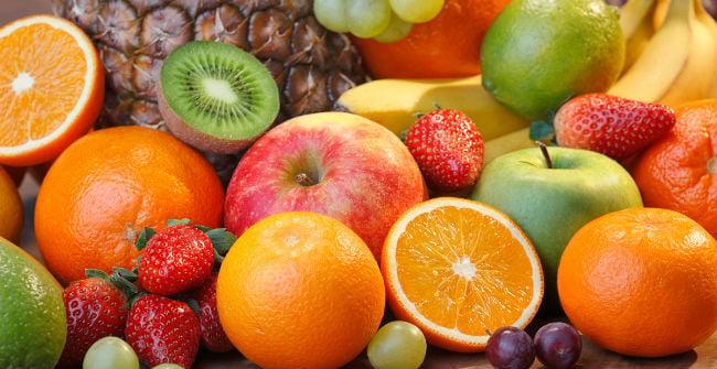 Tabela de Calorias das Frutas