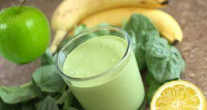 Suco detox de banana