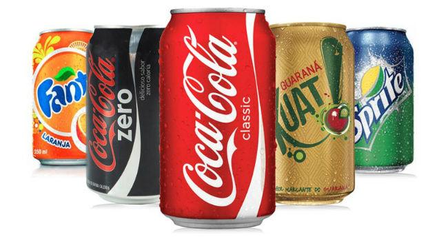 coca cola zero pode na dieta
