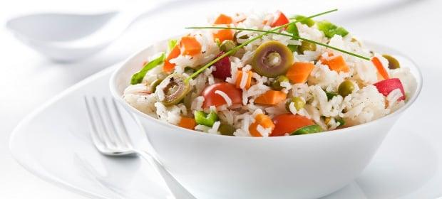 10 receitas de salada de arroz light - Ensalada de arroz light ...