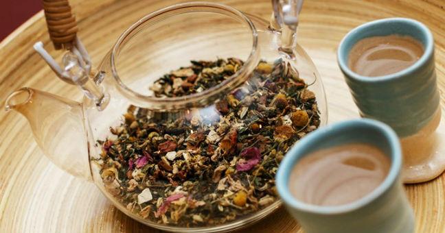 Chá de passiflora