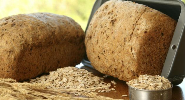 Pão integral diet