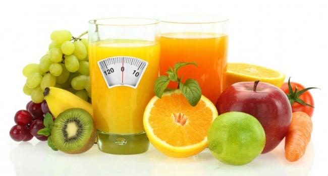 Alimentos da dieta