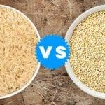 Quinoa ou Arroz Integral - O Que é Melhor?