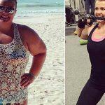 Mulher Recusa Dietas da Moda e Perde Metade do Peso em 2 Anos