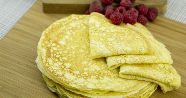 Crepes low carb