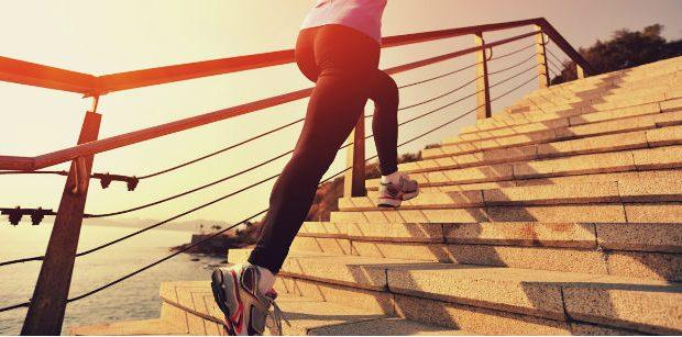 HIIT na escada