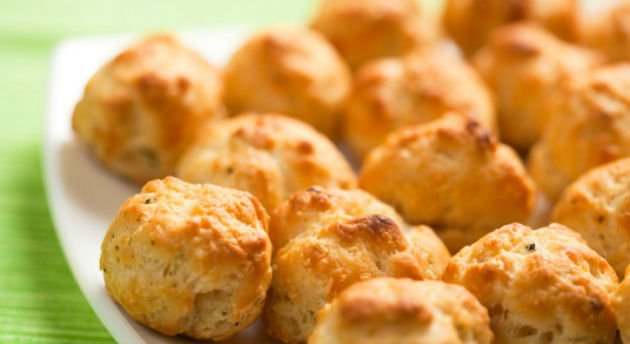 Pão de queijo de batata-doce