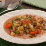 6 Receitas de Sopa de Legumes com Carne Moída Light