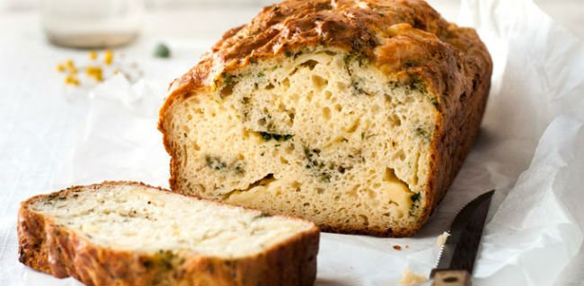 Pão de ervas light