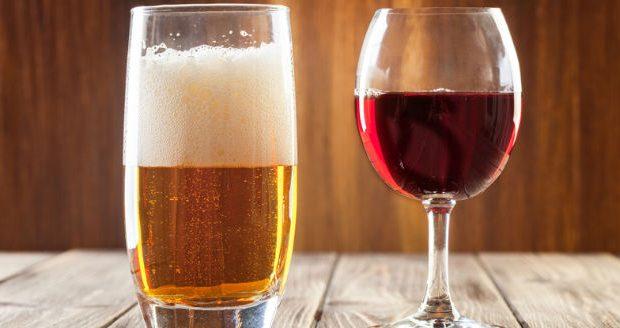 Cerveja ou vinho